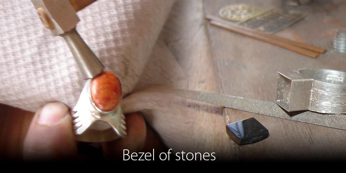 Bezel-of-stones
