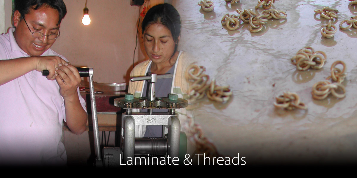 Laminate-Threads