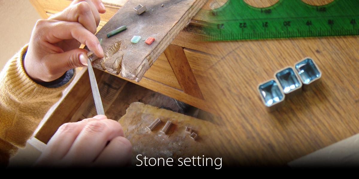 Stone-setting